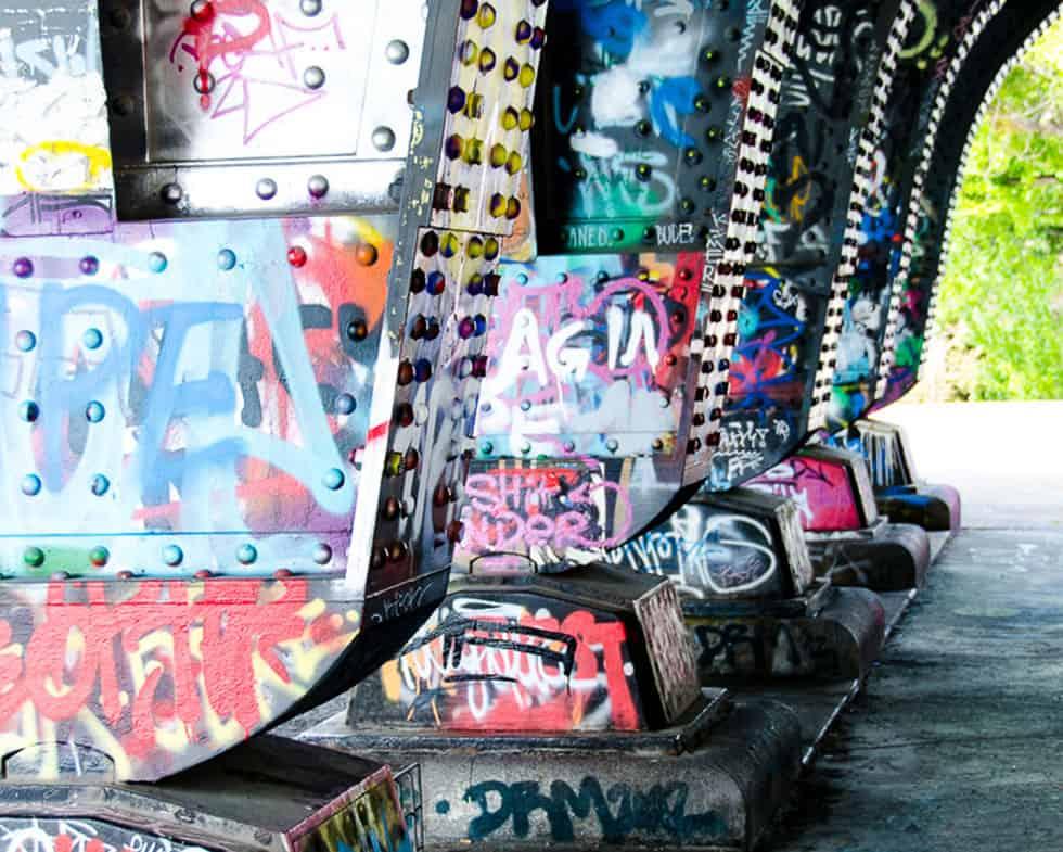 Graffitischutz Malerbetrieb Hausner Wien